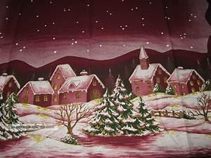Bettwäsche Winterlandschaft Weihnachten : sch ne gro e tischdecke winter weihnachten winterlandschaft bedruckt neu ovp ~ Sanjose-hotels-ca.com Haus und Dekorationen
