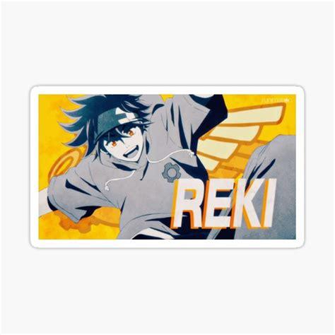 reki kyan sk8 the infinity sticker by reigill redbubble