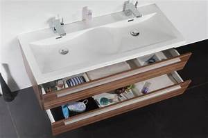 Meuble Salle De Bain Double Vasque 120 Cm : beau meuble salle de bain double vasque 120 cm 58 pour ~ Edinachiropracticcenter.com Idées de Décoration