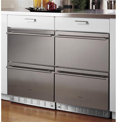 monogram double drawer refrigerator module zidshss