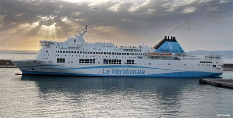 bureau de controle veritas un ferry de la meridionale privé de passagers