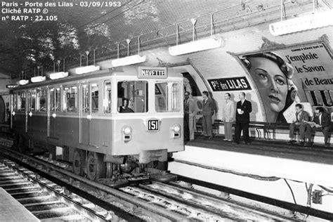 paris metro porte des lilas navette mp