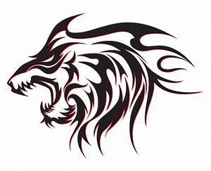 Tribal Wolf Tattoo : 50 fantastic and sensational tribal tattoos for men and women ~ Frokenaadalensverden.com Haus und Dekorationen