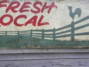 Vintage Farmers Market Sign