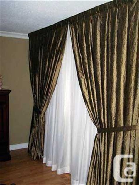 custom made drapery toronto curtains sheers blinds and