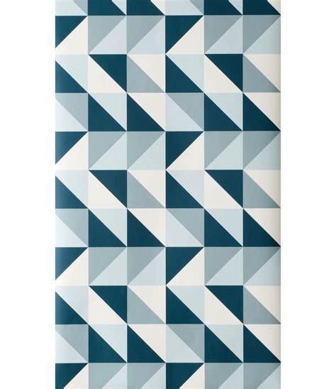papier peint remix  rouleau larg  cm bleu petrole
