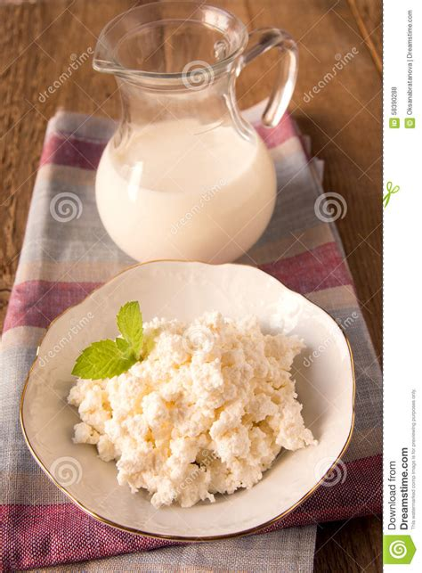 cr駱ine cuisine fromage blanc photo stock image 58390288