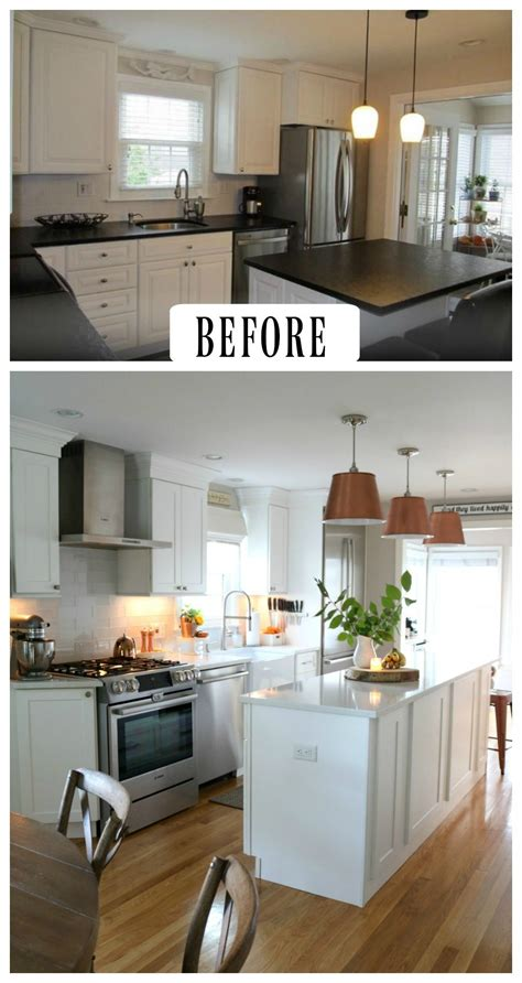 27 inspiring kitchen makeovers before and after nesting with grace