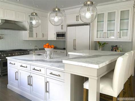 kitchen island with breakfast bar designs l shaped breakfast bar transitional kitchen