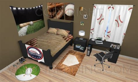 baseball themed bedding how to create a baseball themed bedroom with no decorating 1494