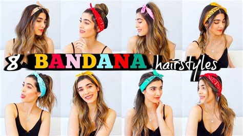 8 Trendy Bandana Hairstyles For Summer