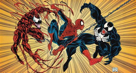 Let there be carnage ou venom: Venom Vs. Carnage Is an Epic Battle Between Costumes!