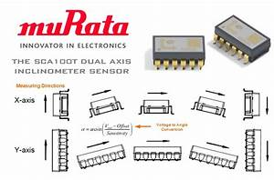Murata Sca100t Dual Axis Inclinometer Sensor