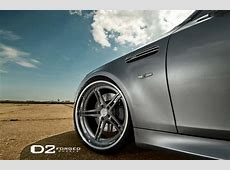 BMW M5 E60 with D2Forged Wheels