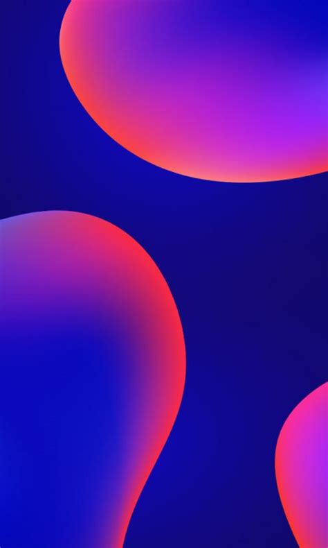 Abstract Wallpaper Gradient by Digital Neon Bubbles Abstract Gradient 480x800