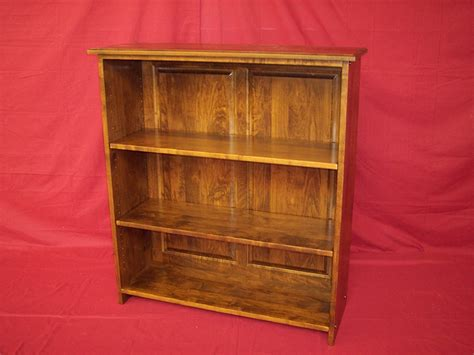 Solid Maple Bookcase by Custom Bookcases Charles R Bailey Cabinetmakers