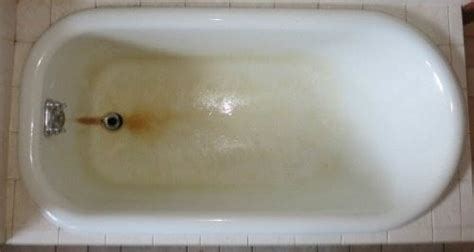 clean tub stains help rust stains on my fiberglass bathtub