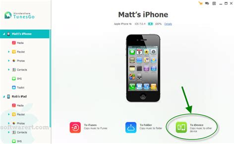 how to transfer one iphone to another copy to another iphone ipod