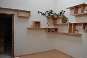 Étagères Murales Bois : petite deco etageres murales ~ Melissatoandfro.com Idées de Décoration