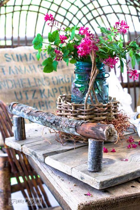 summer izing  flowers  junk funky junk