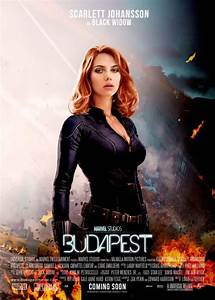 "Fan poster for the Black Widow/Hawkeye ""Budapest"" movie ..."
