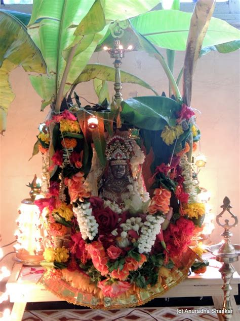 Varalakshmi Vratham Decoration Ideas With Coconut by Kalash Decoration For Pooja Images