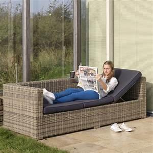 Rattan Essgruppe Mit Bank : exotan rimini lounge sofa bank 3 sitzer liegefunktion natur grau polyrattan ebay ~ Bigdaddyawards.com Haus und Dekorationen
