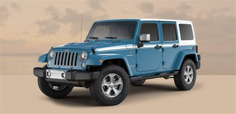 jeep chief jeep adds two special edition models to wrangler lineup