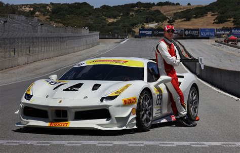 first ferrari race actor michael fassbender races in ferrari challenge one