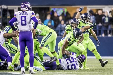 creating havoc   seahawks defense shut