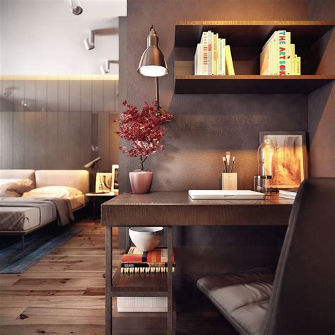 small office design two homes with decor and neutral colors