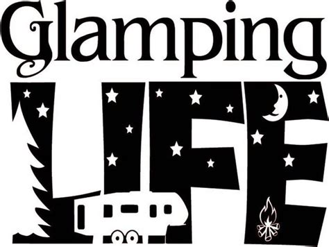 glamping life camping vinyl decal camper decal rv vinyl etsy   vinyl decals glamping
