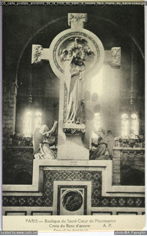 banc postale carte postale ancienne de la croix du banc d 蜩uvre