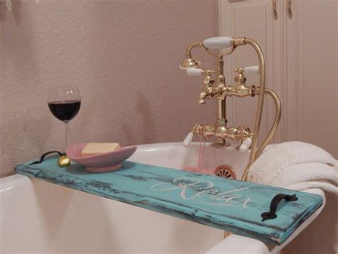 diy bathtub tray designs fun    great