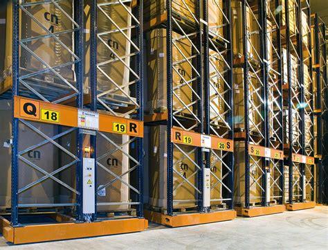 movile racks mobile racking  shelving interlake mecalux