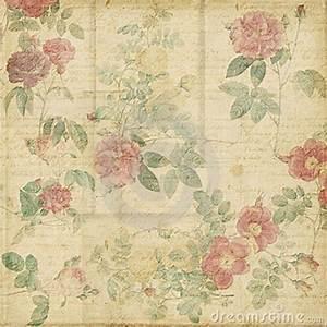 Vintage Scrapbook Paper | ... vintage roses shabby chic ...