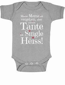 Lustige Baby Bodys : geschenke f r und von heisser single tante baby body kurzarm body lustiges ebay ~ Frokenaadalensverden.com Haus und Dekorationen