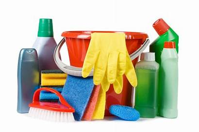 Cleaning Household Cleaners Assortment Common Chemicals Pets