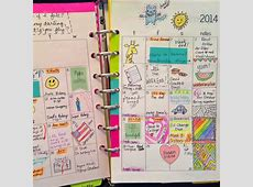 Planner Fun {31 Days #22} Decorating My Planner Pages