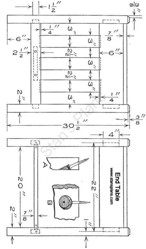 mission style sofa table plans  woodworking projects plans