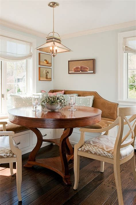 breakfast nook kitchen table 25 space savvy banquettes with built in storage underneath