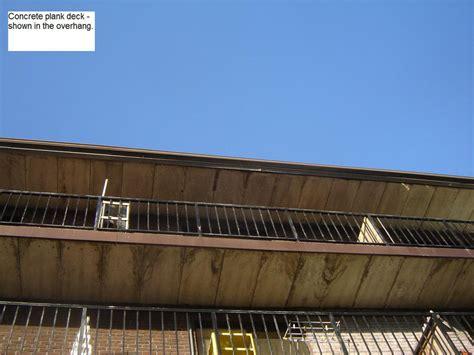 concrete roof decks  century roofing