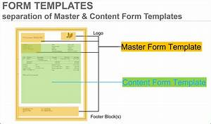Supplier Invoice Template Output Management Customize Content Form For Outgoing