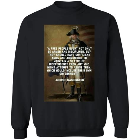 In 1791 william rawle was appointed as a united states attorney for pennsylvania by president george washington, a he describes the scope of the second amendment's right to keep and bear arms. 2nd Amendment - George Washington Quote - Respect The Look