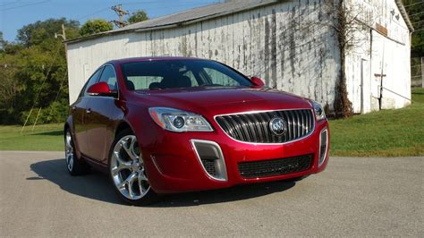 buick regal gs   mph  drive review  fast