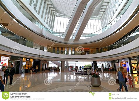 oval atrium ifc mall hong kong editorial stock photo image  modern indoor