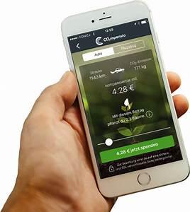 Co2 Ausstoß Berechnen Auto : co2mpensio co2 mobil kompensieren app f r klima kompensation ~ Themetempest.com Abrechnung