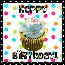 hareketli doğum günü kartı gif birthday cupcake gif renkli duvar