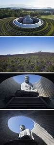 614 best sculptures assemblages images on pinterest for A gigantic buddha sculptures emerges from the top of a hill in japan