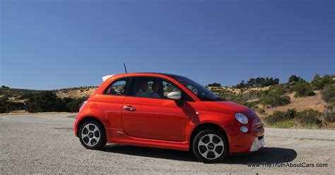 Fiat 500 Electric Review by Review 2013 Fiat 500e Electric The About Cars